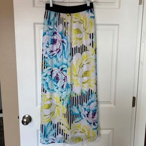 Worthington Floral Skirt